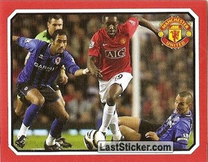 Middlesbrough v Manchester United - Welbeck (2009 fixtures poster)