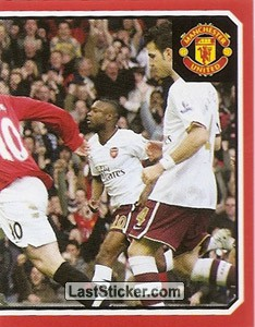 Manchester United v Arsenal - Ronaldo & Rooney (2 of 2) (2009 fixtures poster)