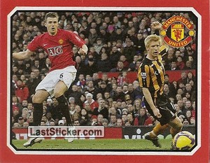 Hull City v Manchester United - Carrick (2009 fixtures poster)