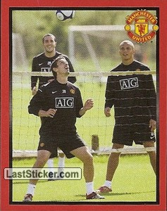 Gary Neville in training (Gary Neville)