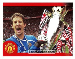 Edwin van der Sar in celebration (Edwin van der Sar)