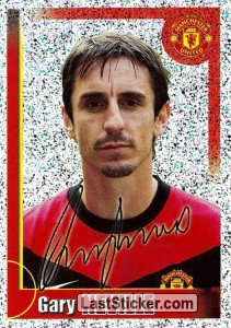 Gary Neville (autographed) - big metal (Gary Neville)