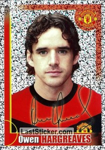 Owen Hargreaves (autographed) - big metal (Owen Hargreaves)