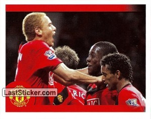 Wes Brown in celebration (Wes Brown)
