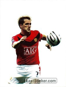 Michael Owen in action - PVC (Michael Owen)