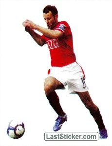 Ryan Giggs in action - PVC (Ryan Giggs)