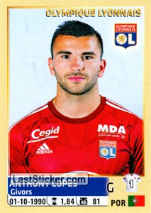 sticker 197 anthony lopes panini foot 2014 2015. Black Bedroom Furniture Sets. Home Design Ideas