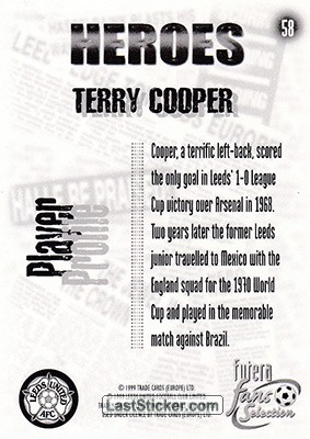 Terry Cooper (Heroes) - Back