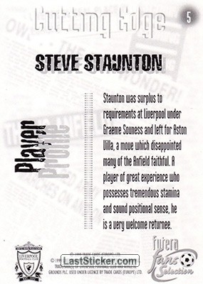 Steve Staunton (Cutting Edge) - Back