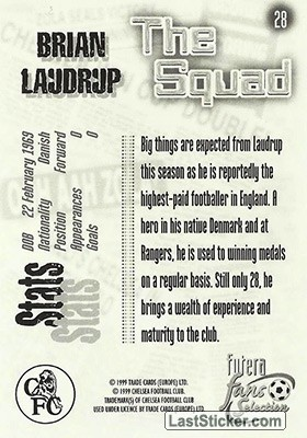 Brian Laudrup (The Squad) - Back
