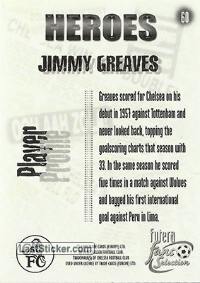Jimmy Greaves (Heroes) - Back