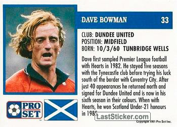 Dave Bowman (Dundee United) - Back