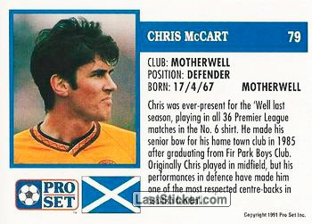 Chris McCart (Motherwell) - Back