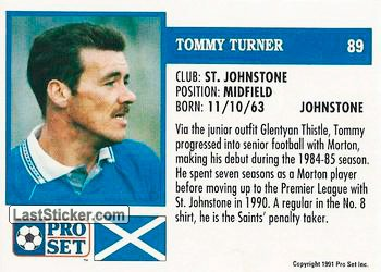 Tommy Turner (St. Johnstone) - Back