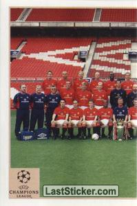 Manchester United Team (1 of 2) (Manchester United)
