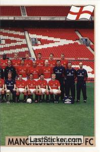 Manchester United Team (2 of 2) (Manchester United)