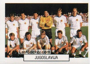 Team photo (Jugoslavija)