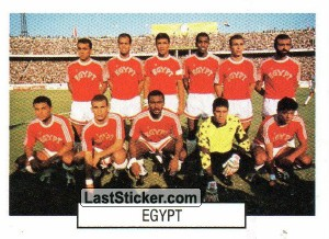 Team photo (Egypt)