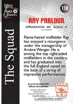 Ray Parlour (The Squad) - Back
