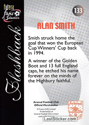Alan Smith (Flashback) - Back