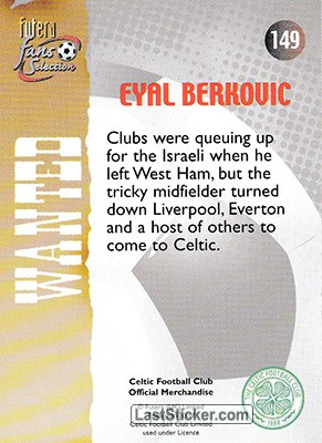 Eyal Berkovic (Wanted) - Back