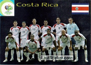 Costa Rica (Team cards)