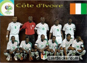 Côte d'Ivoire (Team cards)