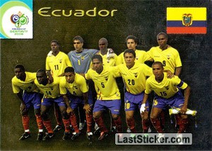 Ecuador (Team cards)