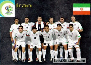 Iran (Team cards)