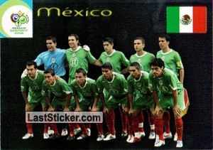 México (Team cards)