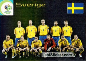 Sverige (Team cards)