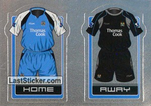 The Kits (a/b) (Manchester City)
