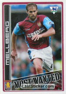 Olof Mellberg (Aston Villa) (Merlin's Most Wanted)