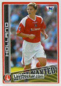 Matt Holland (Charlton Athletic) (Merlin's Most Wanted)