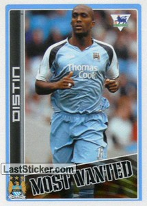 Sylvian Distin (Manchester City) (Merlin's Most Wanted)