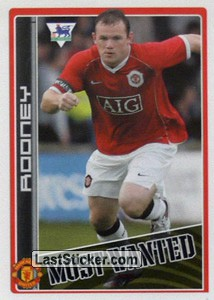 Wayne Rooney (Manchester United) (Merlin's Most Wanted)