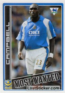 Sol Campbell (Portsmouth) (Merlin's Most Wanted)