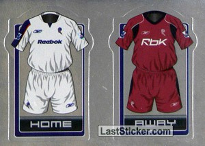 The Kits (a/b) (Bolton Wanderers)