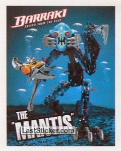 "8916 Takadox The ""Mantis"" (Lego Bionicle Barraki)"