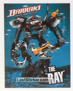 "8919 Mantax The ""Ray"" (Lego Bionicle Barraki)"
