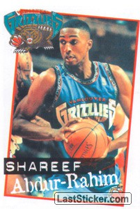 Shareef Abdur-Rahim (Vancouver Grizzlies)