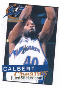 Calbert Cheaney (Washington Wizards)