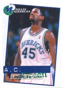 A.C.Green (Dallas Mavericks)