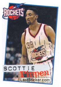 Scottie Pippen (Houston Rokits)