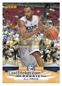 A.J. Price (Indiana Pacers) (Rookie)