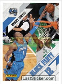 Dwight Howard (Orlando Magic) (Block Party)