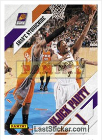 Amar'e Stoudemire (Phoenix Suns) (Block Party)