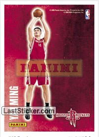 Yao Ming (Houston Rockets) (Decals)