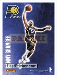 Danny Granger (Indiana Pacers) (Decals)