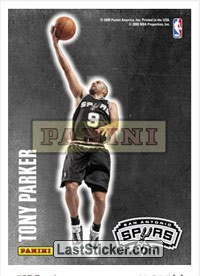 Tony Parker (San Antonio Spurs) (Decals)